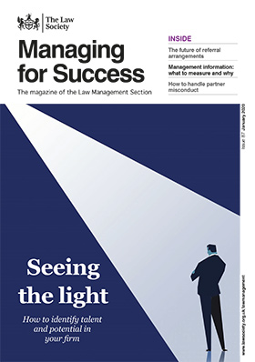 Managing for Success magazine cover - January 2020