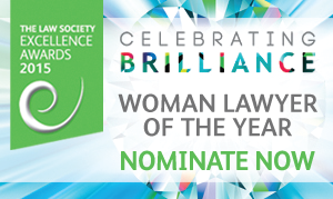 Excellence Awards 2015 - woman lawyer of the year