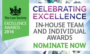 in house lawyer excellence awards