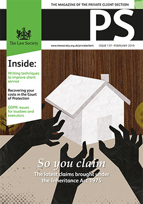 PS magazine cover - February 2019