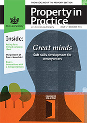 Property in Practice cover December 2016 180x254