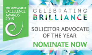 Excellence Awards 2015 - solicitor advocate of the year