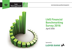 Financial Benchmarking Survey 2016 cover image