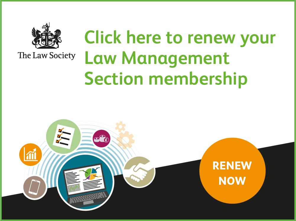 Law Management Section renewals