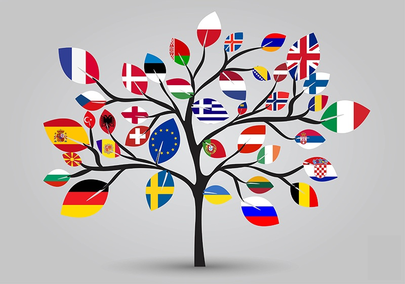 eu flag tree