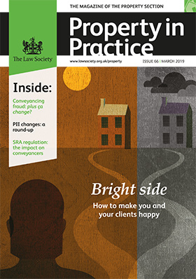 Property in Practice magazine cover - March 2019