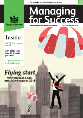 Managing for Success jANUARY 2018 cover