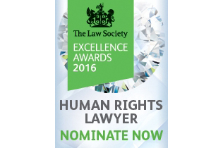 human rights lawyer excellence awards