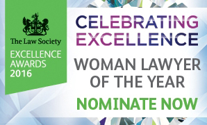 excellence awards logo woman lawyer 298x180