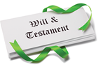 Picture of a will document