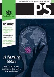 PS magazine cover November 2015
