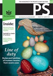 PS magazine cover March 2016