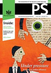 PS magazine cover January 2014