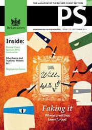 PS magazine cover September 2014