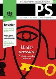 PS magazine cover March 2014