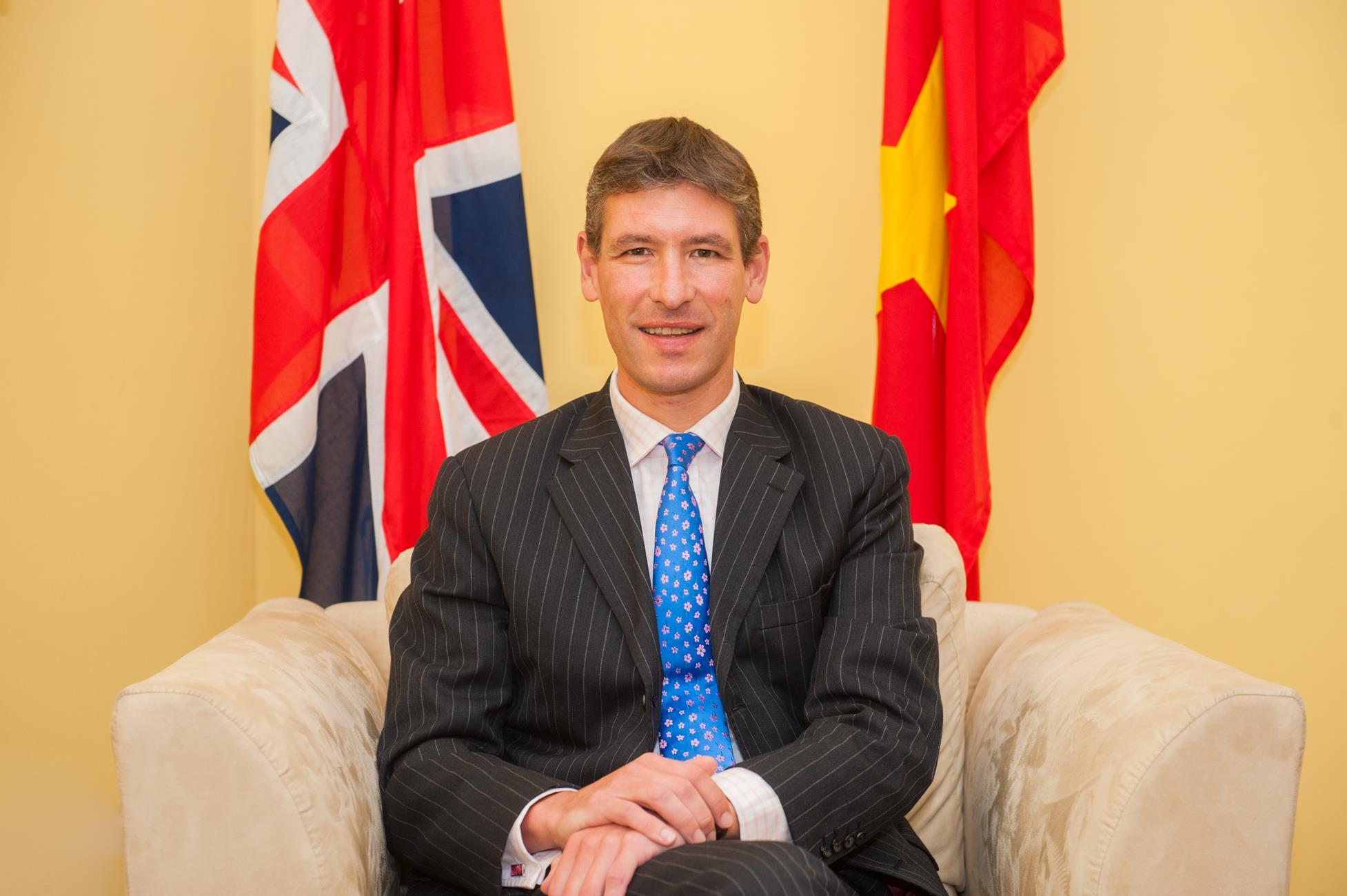 British Ambassador Giles Lever