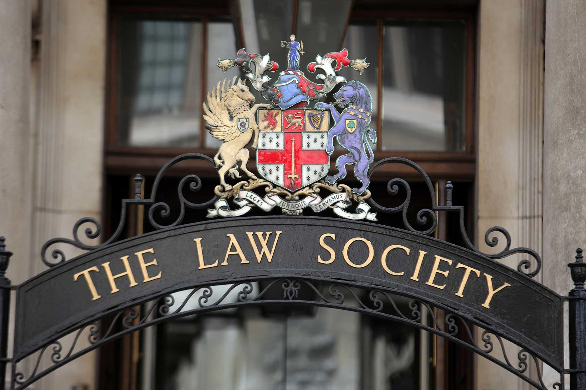Law Society sign