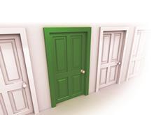 Green Door image