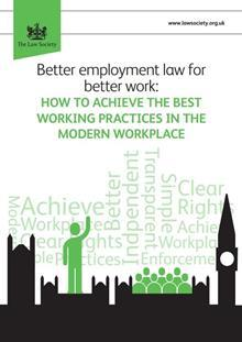 Better Employment Law report cover