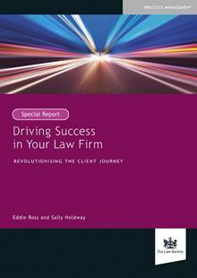 Driving Success in your Law Firm book cover