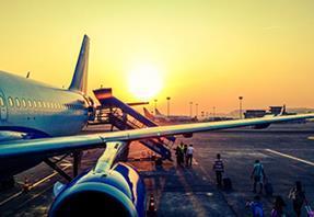 Holiday sickness claims aeroplane