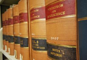 thompson on negligence book spine