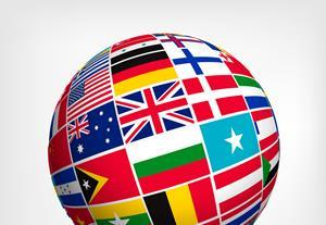 globe flag