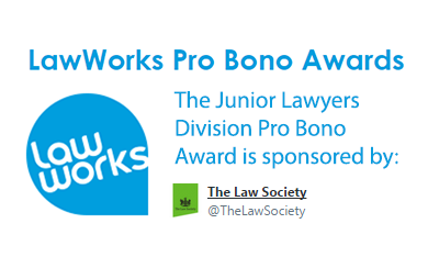 Law Works Pro Bono Award 2015