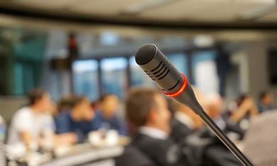 microphone close up