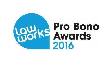 LawWorks Pro Bono Awards 2016