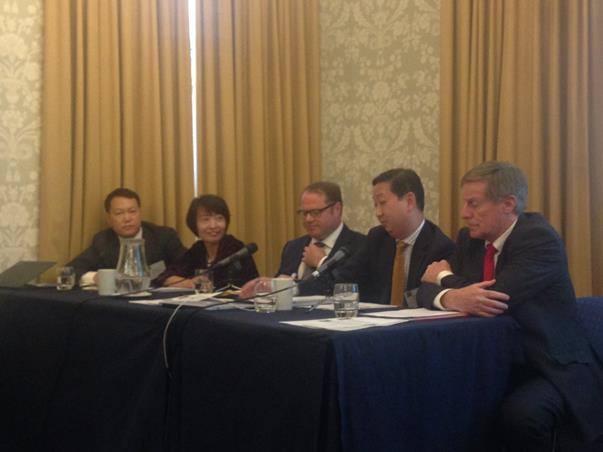 Photo of the Doing Legal Business between the UK and China panel speakers